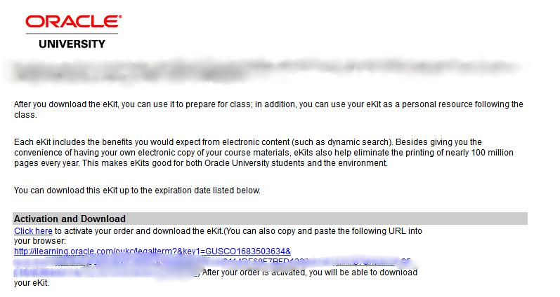 关于oracle eKit激活不了怎么办???!!! - Oracle入门与认证- ITPUB